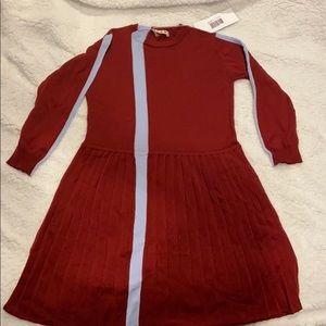 2 DAY SALE - Marni Long Sleeve Stripe Dress